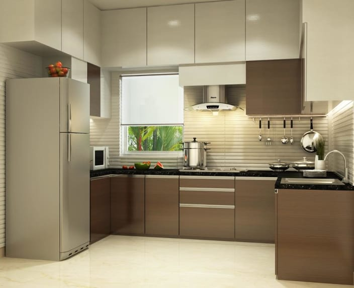 U Shaped Modular Kitchen Design Images Catalogue Modular Wardrobe In Delhi Noida Gurgaon